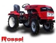 Внимание! Новинка! Минитрактор ROSSEL XT-152D дизельный 15л. с.